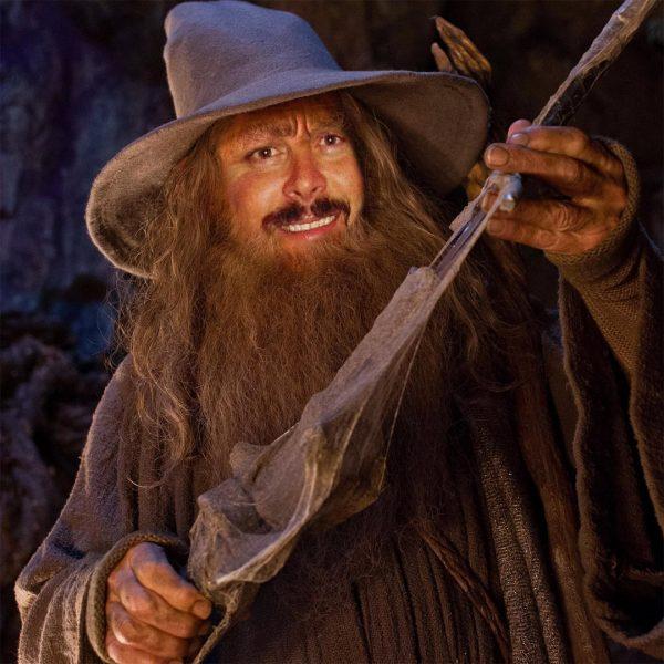 Joel as Gandalf